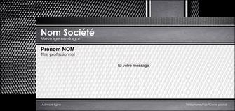 maquette en ligne a personnaliser carte de correspondance acier alliage aluminium MIF12589