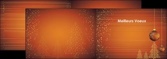 creer modele en ligne depliant 2 volets  4 pages  carte de voeux 2013 voeux nouvelle annee cartes de voeux MIF12857