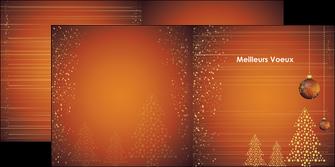 modele en ligne depliant 2 volets  4 pages  carte de voeux 2013 voeux nouvelle annee cartes de voeux MIF12859