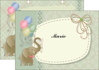 realiser flyers elephant gris ballons MLIG13867