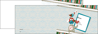 Commander Faire part de Mariage  Faire Part de naissance faire-part-mariage Dépliant 4 pages A5 - Paysage (14,8x21cm lorsque fermé)