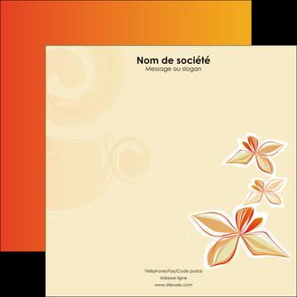 modele en ligne flyers fleuriste et jardinage cartes collection couleur MLGI14215