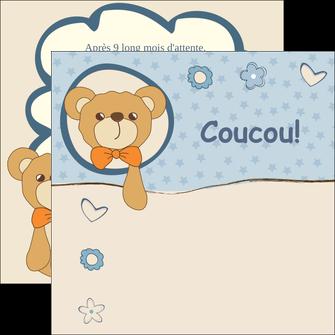 imprimerie flyers dessin anime invitation MLGI14381