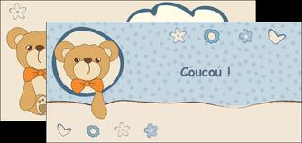 imprimer flyers dessin anime invitation MLGI14385