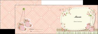 personnaliser maquette depliant 2 volets  4 pages  faire part de naissance carte de naissance carte naissance MLIG14393