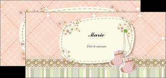 creation graphique en ligne flyers faire part de naissance carte de naissance carte naissance MIF14395