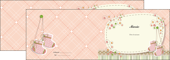 cree depliant 2 volets  4 pages  faire part de naissance carte de naissance carte naissance MIF14401