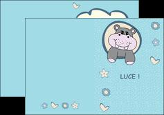 impression depliant 2 volets  4 pages  bonbon dessin anime MLIG14593