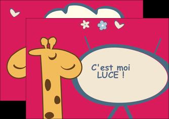 creation graphique en ligne flyers bonbon dessin anime MLIG14677
