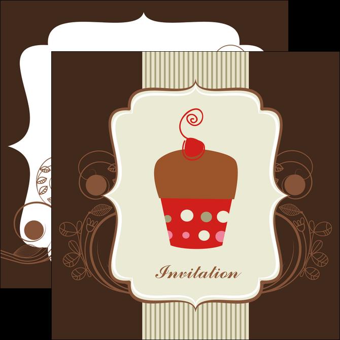 modele flyers carte d anniversaire carton d invitation d anniversaire faire part d invitation anniversaire MLGI14683