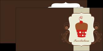 cree depliant 2 volets  4 pages  carte d anniversaire carton d invitation d anniversaire faire part d invitation anniversaire MLGI14687