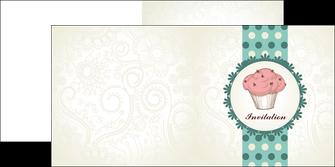 modele depliant 2 volets  4 pages  carte d anniversaire carton d invitation d anniversaire faire part d invitation anniversaire MLGI14773