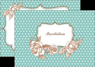 personnaliser maquette flyers carte d anniversaire carton d invitation d anniversaire faire part d invitation anniversaire MLGI14819