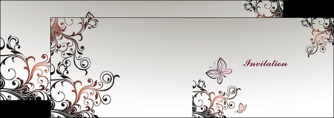 cree depliant 2 volets  4 pages  carte d anniversaire carton d invitation d anniversaire faire part d invitation anniversaire MLGI14923