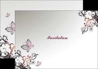 personnaliser maquette flyers carte d anniversaire carton d invitation d anniversaire faire part d invitation anniversaire MLGI14929