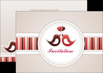 imprimerie flyers carte d anniversaire carton d invitation d anniversaire faire part d invitation anniversaire MLIG15073