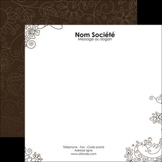 cree flyers fleuriste et jardinage abstrait blanc design MLGI15125