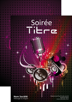 creer modele en ligne flyers discotheque et night club abstract adore advertise MLIG15463