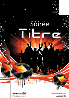 faire modele a imprimer affiche discotheque et night club abstract background banner MLGI15633