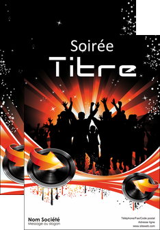 creer modele en ligne affiche discotheque et night club abstract background banner MLGI15635