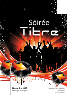 modele en ligne flyers discotheque et night club abstract background banner MLGI15637