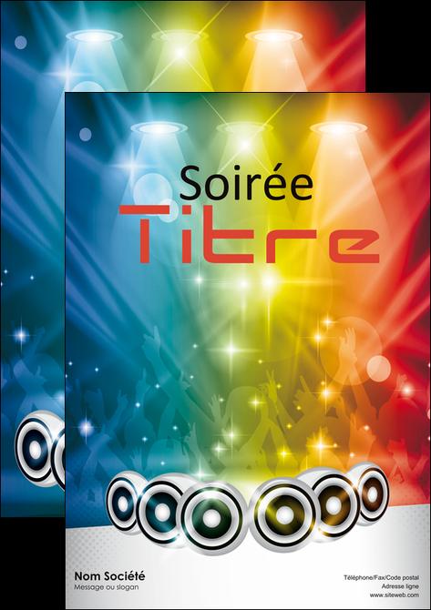 Affiche Mod Le Et Exemple Ambiance Ambiance De Folie Bal