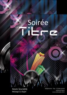 creation graphique en ligne flyers discotheque et night club soiree bal boite MLIG15927