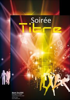 faire affiche discotheque et night club soiree bal boite MLIG15929
