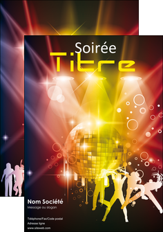 imprimerie affiche discotheque et night club soiree bal boite MLIG15931