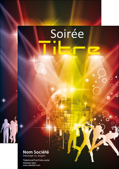 cree affiche discotheque et night club soiree bal boite MLIG15933
