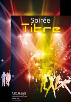 faire affiche discotheque et night club soiree bal boite MLIG15935