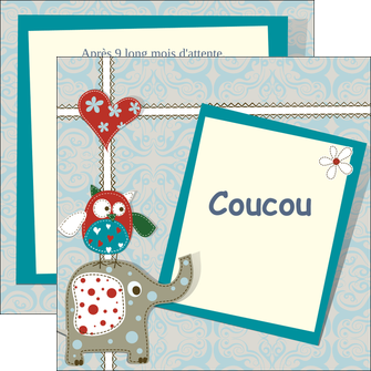 impression flyers chouette dessin elephant MLIG16045
