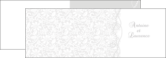 personnaliser modele de depliant 2 volets  4 pages  celebrer ceremonie decor MIS16283
