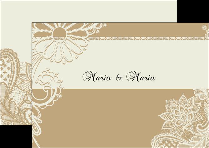 Flyers Modèle Et Exemple Mariage Carte Mariage Carte De