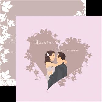 cree flyers mariage carte mariage carte  de mariage MIS17683