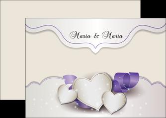 faire flyers mariage faire part mariage faire part de mariage MIS17839