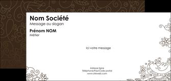 realiser carte de correspondance fleuriste et jardinage abstrait blanc design MIF18123