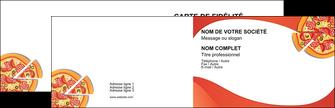 Commander carte de visite papier 350g pelliculage Pizzeria & Restaurant Italien Carte commerciale de fidélité carte-de-visite-papier-350g-pelliculage Carte de visite Double - Paysage