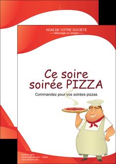 creer modele en ligne affiche pizzeria et restaurant italien pizza pizzeria restaurant pizza MLGI18749
