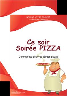 personnaliser maquette affiche pizzeria et restaurant italien pizza pizzeria restaurant pizza MLGI18751