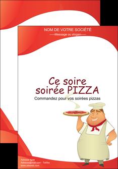 maquette en ligne a personnaliser affiche pizzeria et restaurant italien pizza pizzeria restaurant pizza MLGI18769