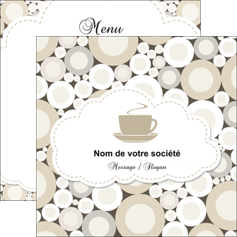 creer modele en ligne flyers bar et cafe et pub salon de the buvette brasserie MLGI18847