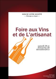 modele affiche vin commerce et producteur magasin de vin cave a vin producteur de vin MLIG19001