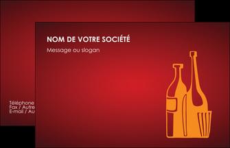impression carte de visite vin commerce et producteur magasin de vin cave a vin producteur de vin MLIG19003