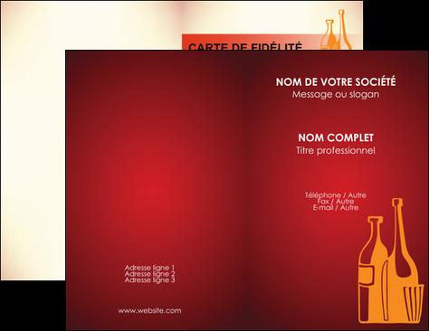 Personnaliser Modele De Carte Visite Vin Commerce Et Producteur Magasin Cave A