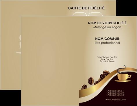 Faire Carte De Visite Bar Et Cafe Pub Tasse Bistro MLGI19099