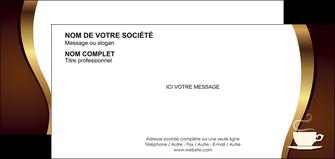 imprimer carte de correspondance bar et cafe et pub cafe tasse de cafe bistro MLGI19103