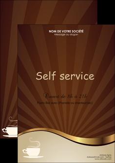 modele flyers bar et cafe et pub cafe tasse de cafe bistro MLGI19107