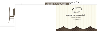 faire modele a imprimer carte de visite restaurant restaurant restauration restaurateur MLIG19213