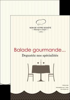 impression affiche restaurant restaurant restauration restaurateur MIF19225